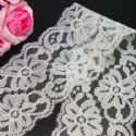 Lace trimmings, white, 5.5cm x 2m, 1 piece, (LHP045)